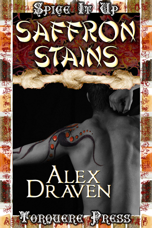 Book cover for Saffron Stains